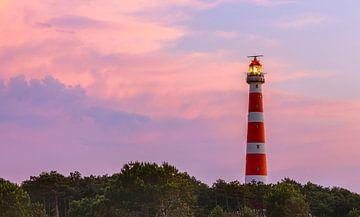 Leuchtturm auf Ameland, Niederlande von Adelheid Smitt