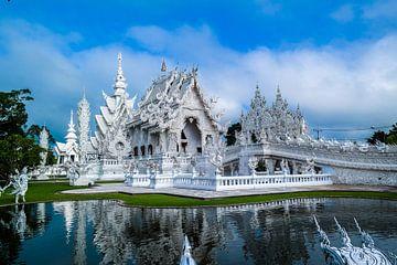 Der Weiße Tempel in Chiang Mai, Thailand von Michelle van den Boom