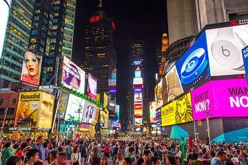 Times Square NY van Arno Wolsink