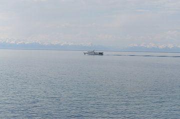 ferry on lake Baikel von Robert Lotman