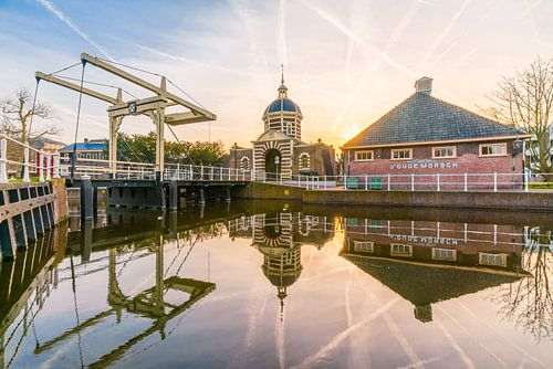 Sunrise at the Morspoort van