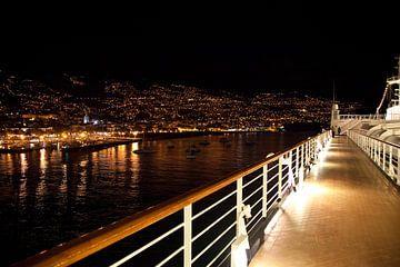 Funchal bij nacht van Arie Storm