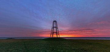 De Kaap Texel Oosterend Zonsopkomst van Texel360Fotografie Richard Heerschap