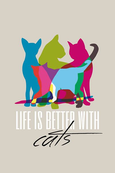 Better with Cats van Harry Hadders