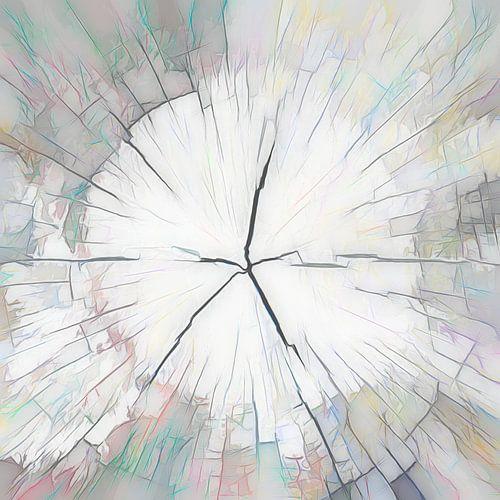Houtstructuur, abstractie