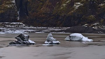 De drie ijsbergen van Timon Schneider