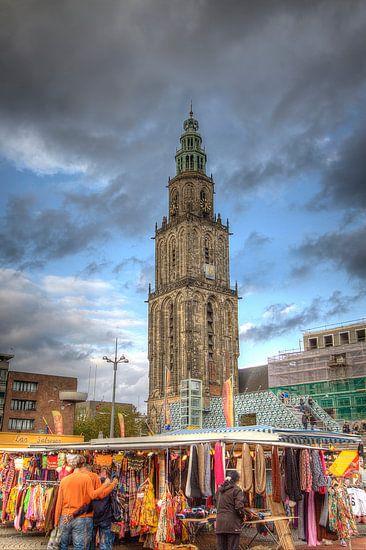 Groningen, Grote Markt, Martini-toren