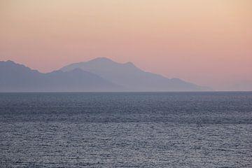 Blick von der Küste Ozdere