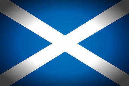 Schotse vlag Saltire van Schotland Saint Andrew's Cross