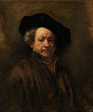 Selbstporträt, Rembrandt