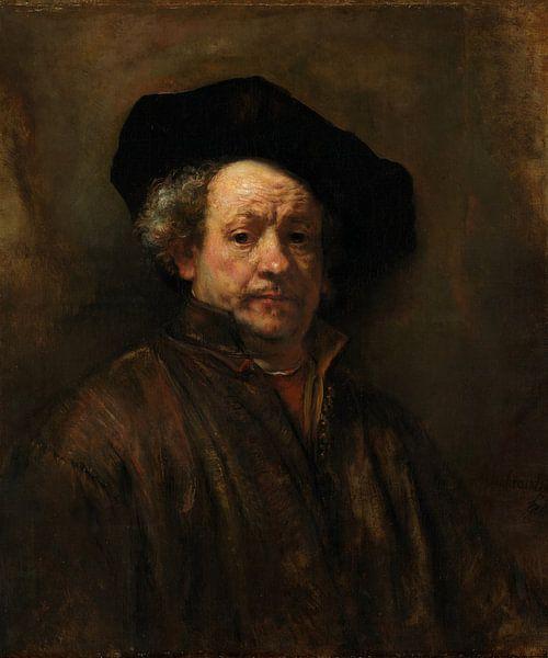 Self-Portrait, Rembrandt van Rembrandt van Rijn