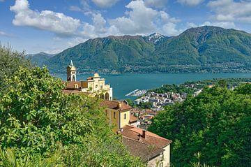 Madonna del Sasso,Locarno,Lac Majeur