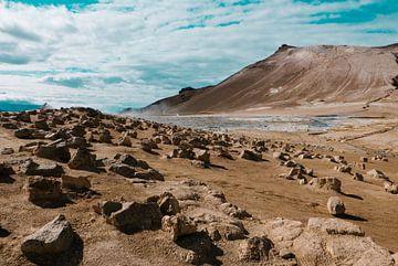 Champs de soufre en Islande sur Tom Rijpert