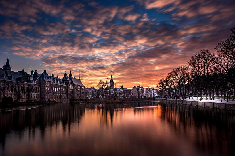 Hofvijver Den Haag von John Ouds