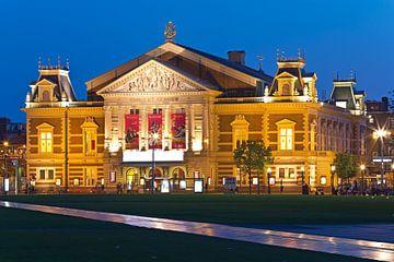 Nuit photo Concertgebouw d'Amsterdam sur Anton de Zeeuw