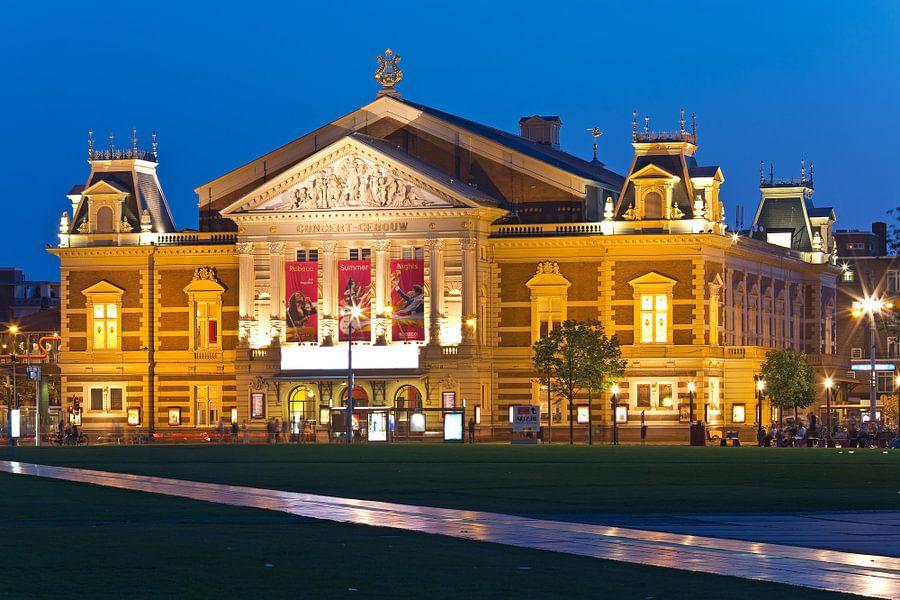 Concertgebouw te Amsterdam van Anton de Zeeuw