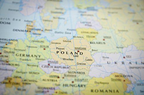 Polen op de Wereldkaart van