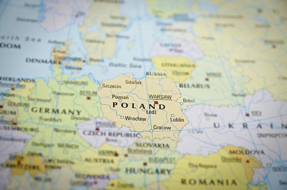 Polen op de Wereldkaart van World Maps