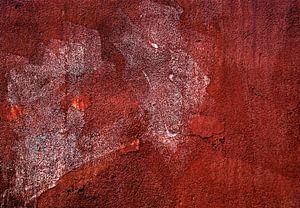 Abstracte muur: tijger