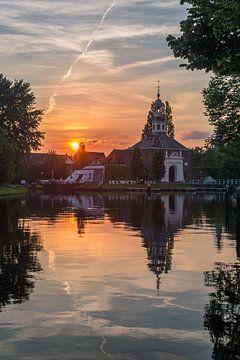 Historische zijlpoort te Leiden von Richard Steenvoorden