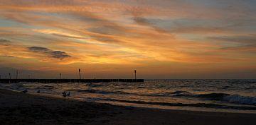 Abendstimmung am Strand von Kolobrzeg