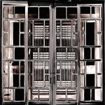 Fenster XXV von Maurice Dawson