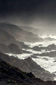 Highway 1 - Californie van Keesnan Dogger Fotografie