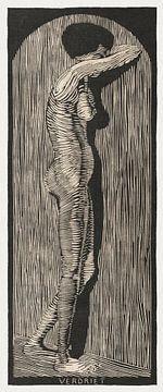 Verdriet, Samuel Jessurun de Mesquita (1914) van Atelier Liesjes