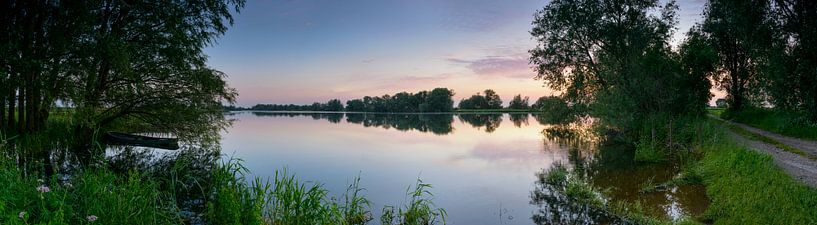 IJsseldelta Zonsondergang van Sjoerd van der Wal