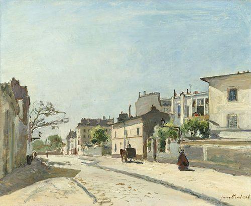 Rue Nôtre-Dame, Parijs, Johan Barthold Jongkind van Meesterlijcke Meesters