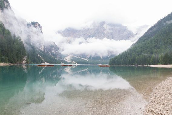 lago di braies van Leanne lovink