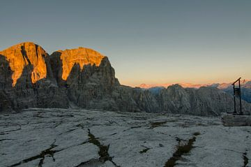 De Brenta zonsopkomst van Sean Vos