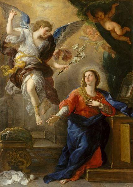 Die Ankündigung - Luca Giordano von Marieke de Koning