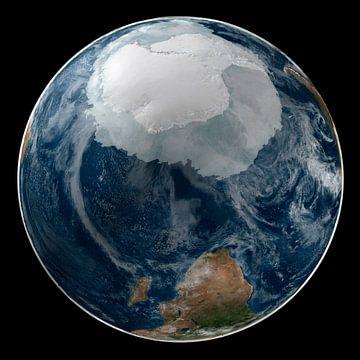 De Aarde en De Zuidpool van Digital Universe