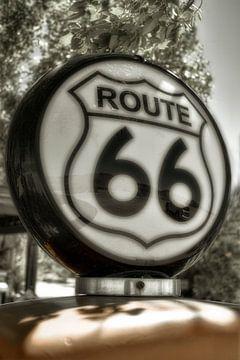 Route 66 benzinepomp van Humphry Jacobs