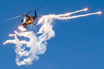 Hubschrauber-Fackeln von Kris Christiaens