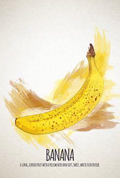 Fruities Banana sur Sharon Harthoorn