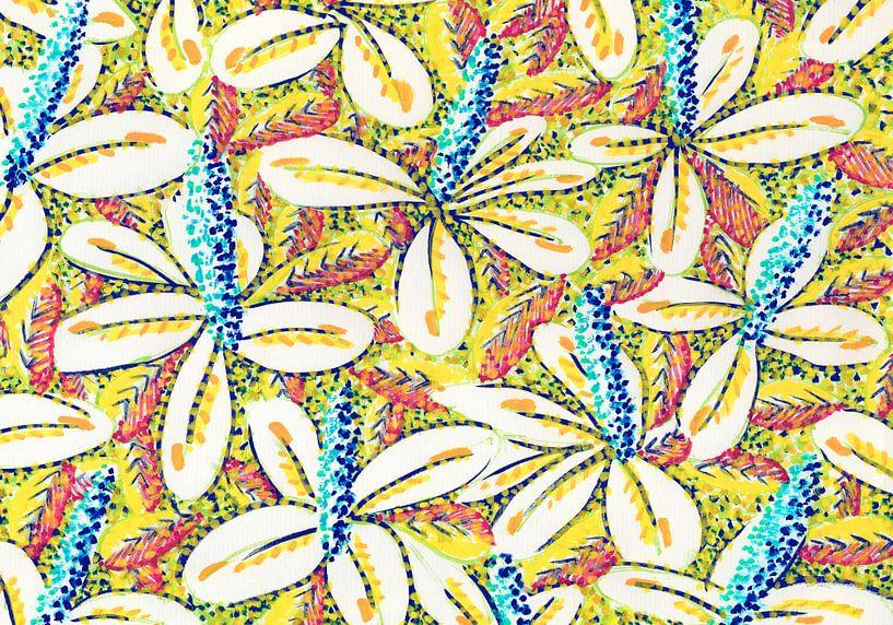 Flower Power van Eva van den Hamsvoort