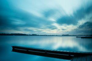 Een blauwe morgen