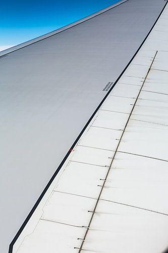 Vliegtuig vleugel van Inge van den Brande