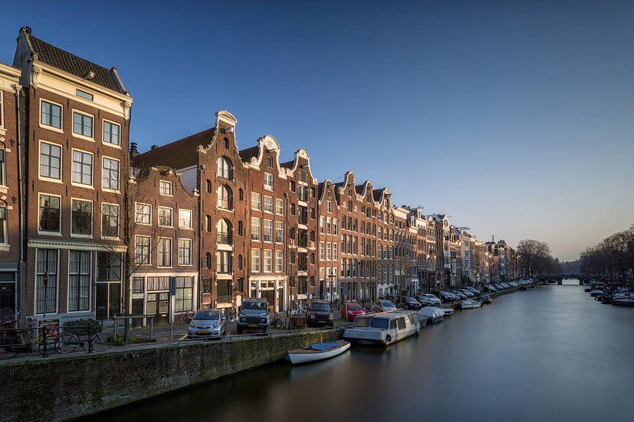 Zonnige Keizersgracht - Amsterdam van Thomas van Galen