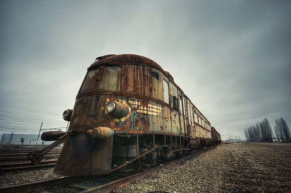 Urbex - Train van Angelique Brunas