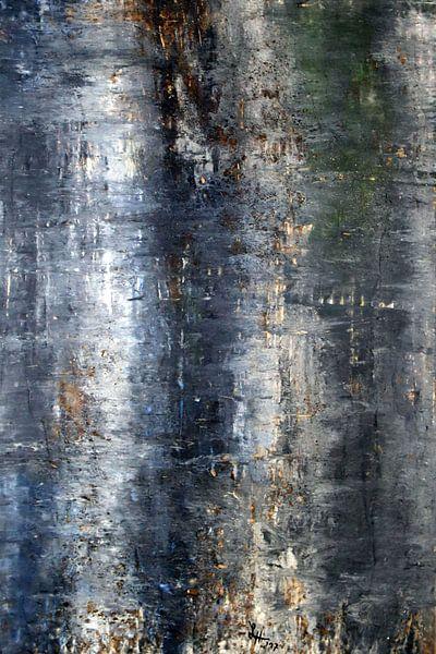 Monochromes Farbbild: schwarz von elha-Art