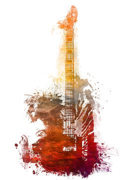 Gitarre 36 Musikkunst #Gitarre #Musik von JBJart Justyna Jaszke