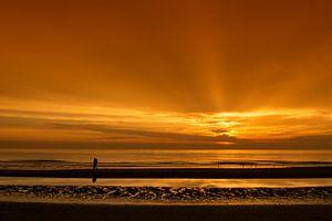 Liefde bij zonsondergang van