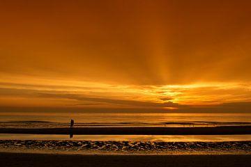 Liefde bij zonsondergang von Dick van Duijn