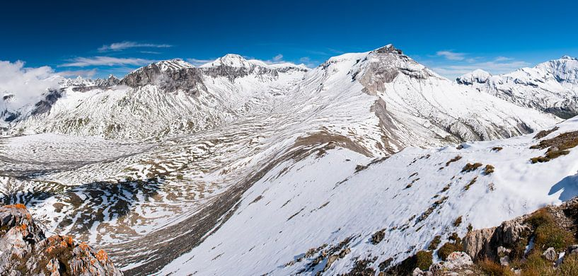 Switzerland mountains - 4 van Damien Franscoise