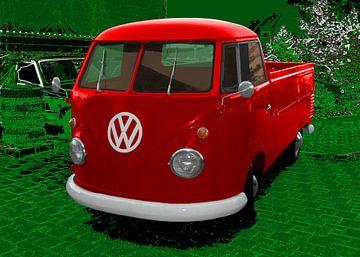 VW Bus Type 2 T1 Platform truck van aRi F. Huber