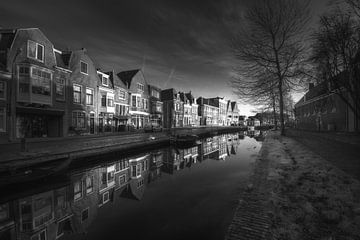 Onder de Boompjes in Hoorn van Jan Siebring