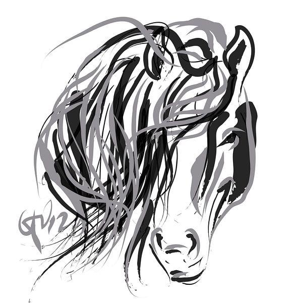 Paard en Haar van Go van Kampen